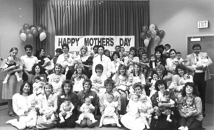 Happy Mothers at Reproductive Partners